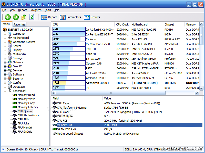 Скриншот к игре Everest Ultimate Edition 5.30.1900 Final + Portable Everest Ultimate Engineer Edition 5.30.1900 Final (2009) PC