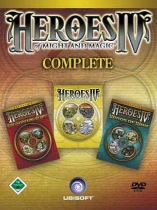 Heroes of Might and Magic 4 Complete (2004) скачать торрент RePack