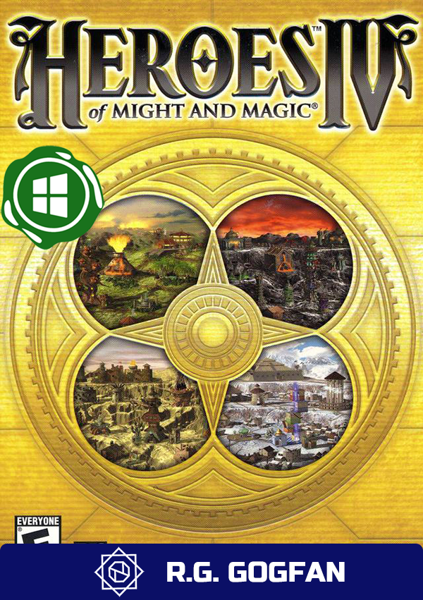 Heroes of Might and Magic 4 Complete [GOG | Windows] (ENG/GER/MULTI6) от R.G. GOGFAN (2004) (2004)