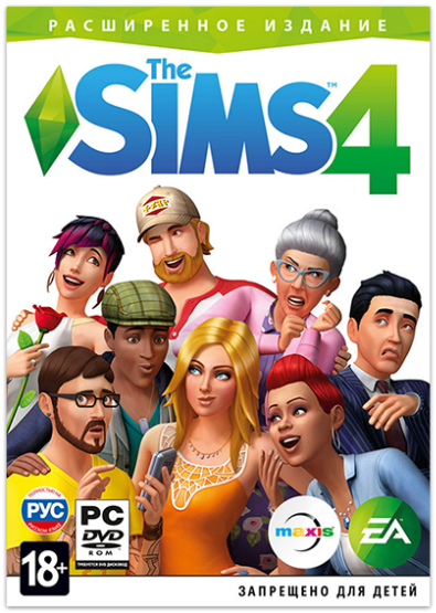 The Sims 4: Deluxe Edition [v 1.65.70.1020 (x64) / 1.65.70.1020 (x32) + DLC] RePack от R.G. Механики
