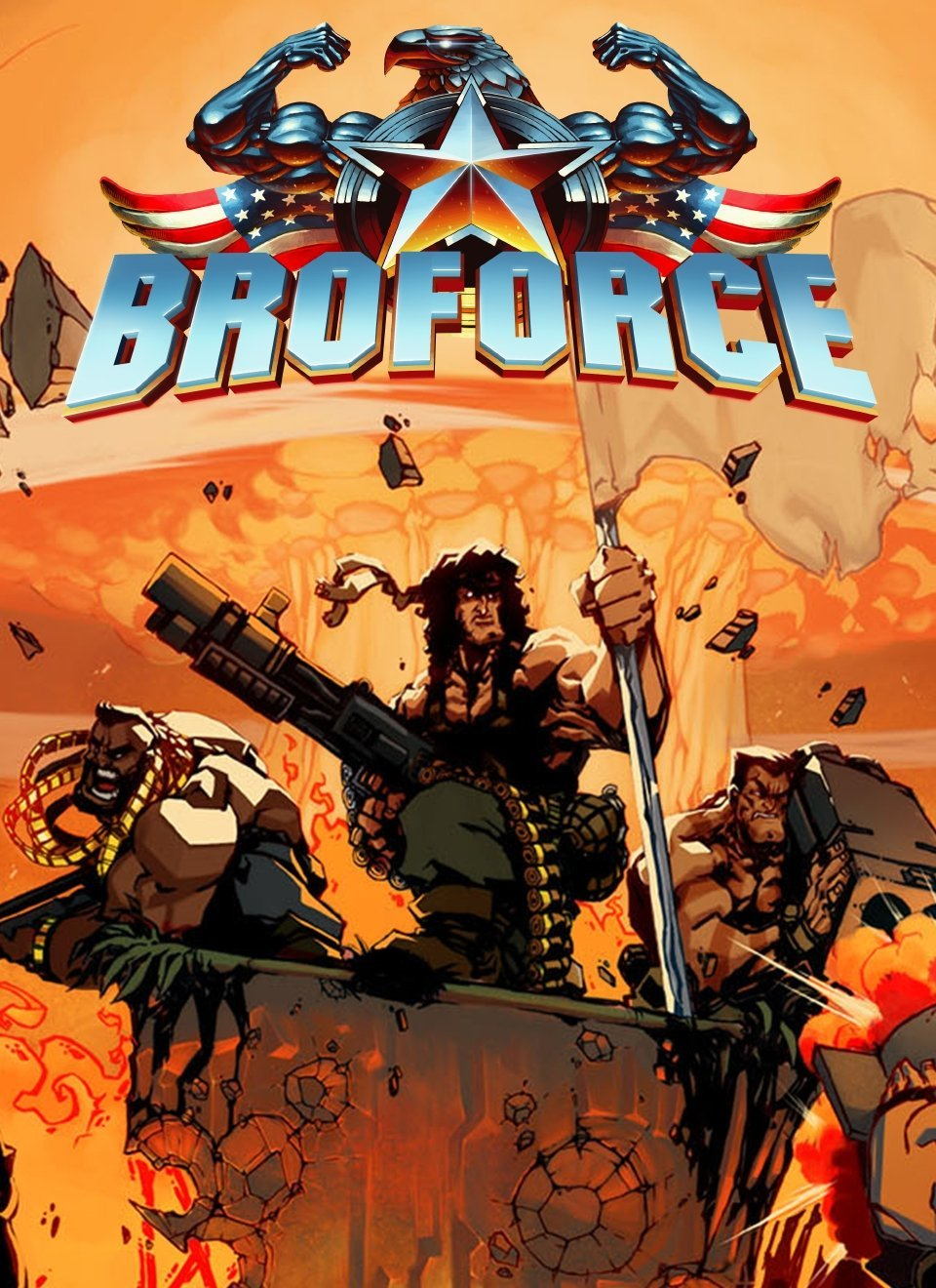 Broforce v.1032 [GOG] (2015)