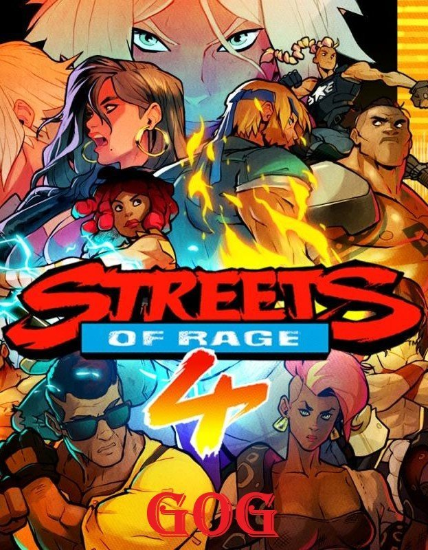Streets of Rage 4 (05g-r11096) [GOG] (2020) (2020)