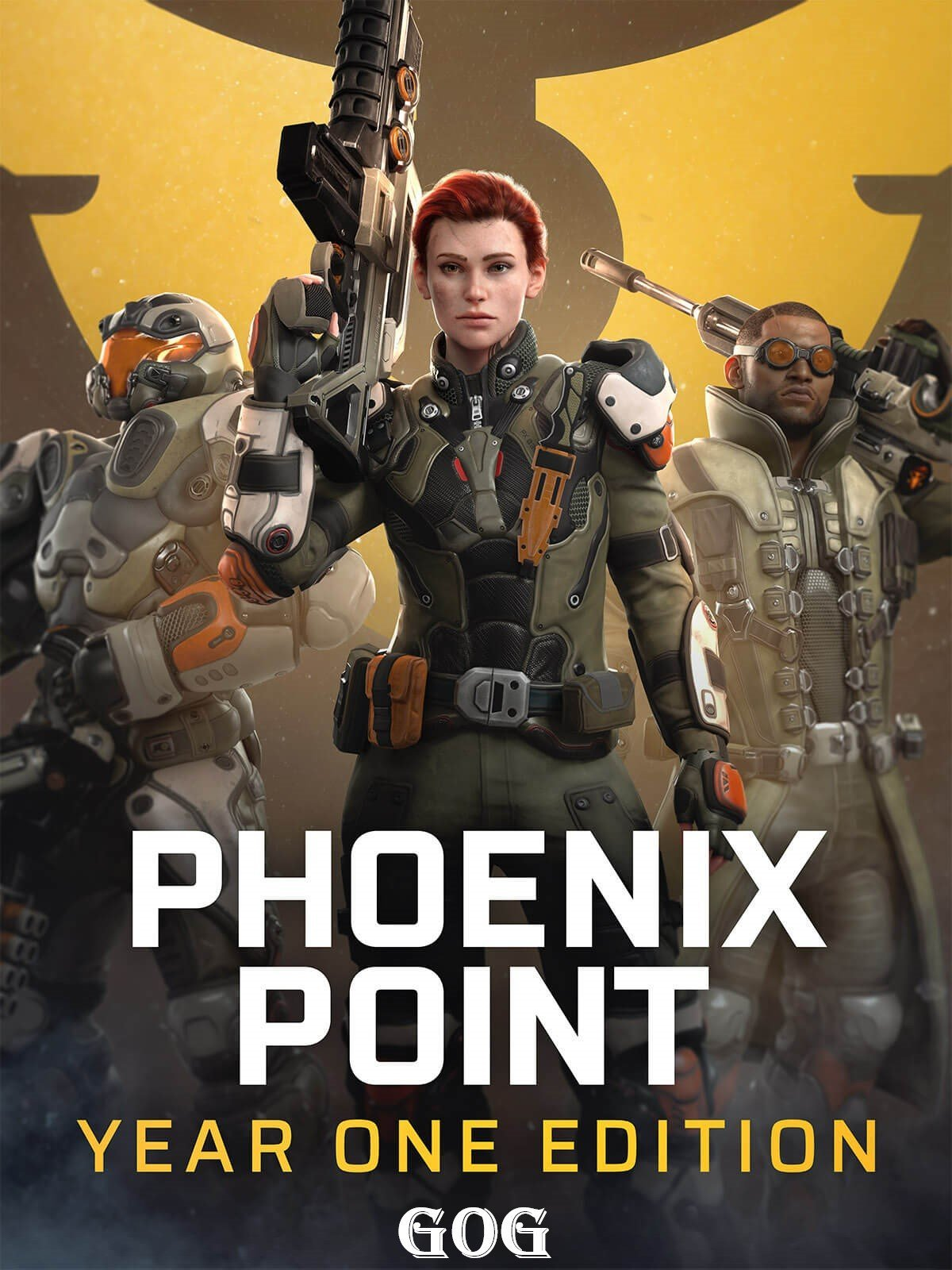 Обложка к игре Phoenix Point: Year One Edition v.1.10 [GOG] (2019) Лицензия